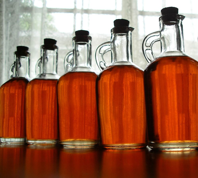 jars of vinegar